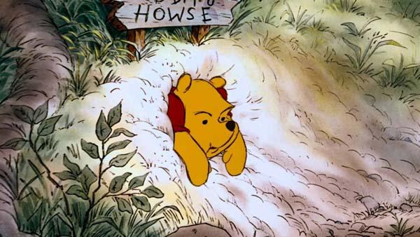 Winnie the Pooh Stuck